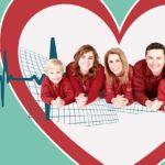 Family in Heart Shape