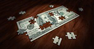 Puzzle $100 Bill